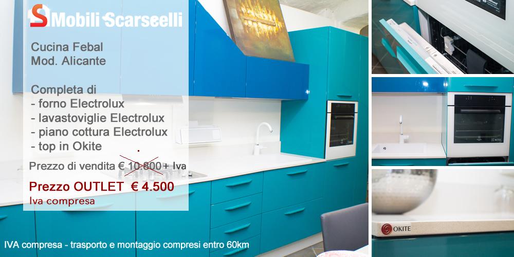 Cucina Febal Mod. Alicante - Offerta Outlet